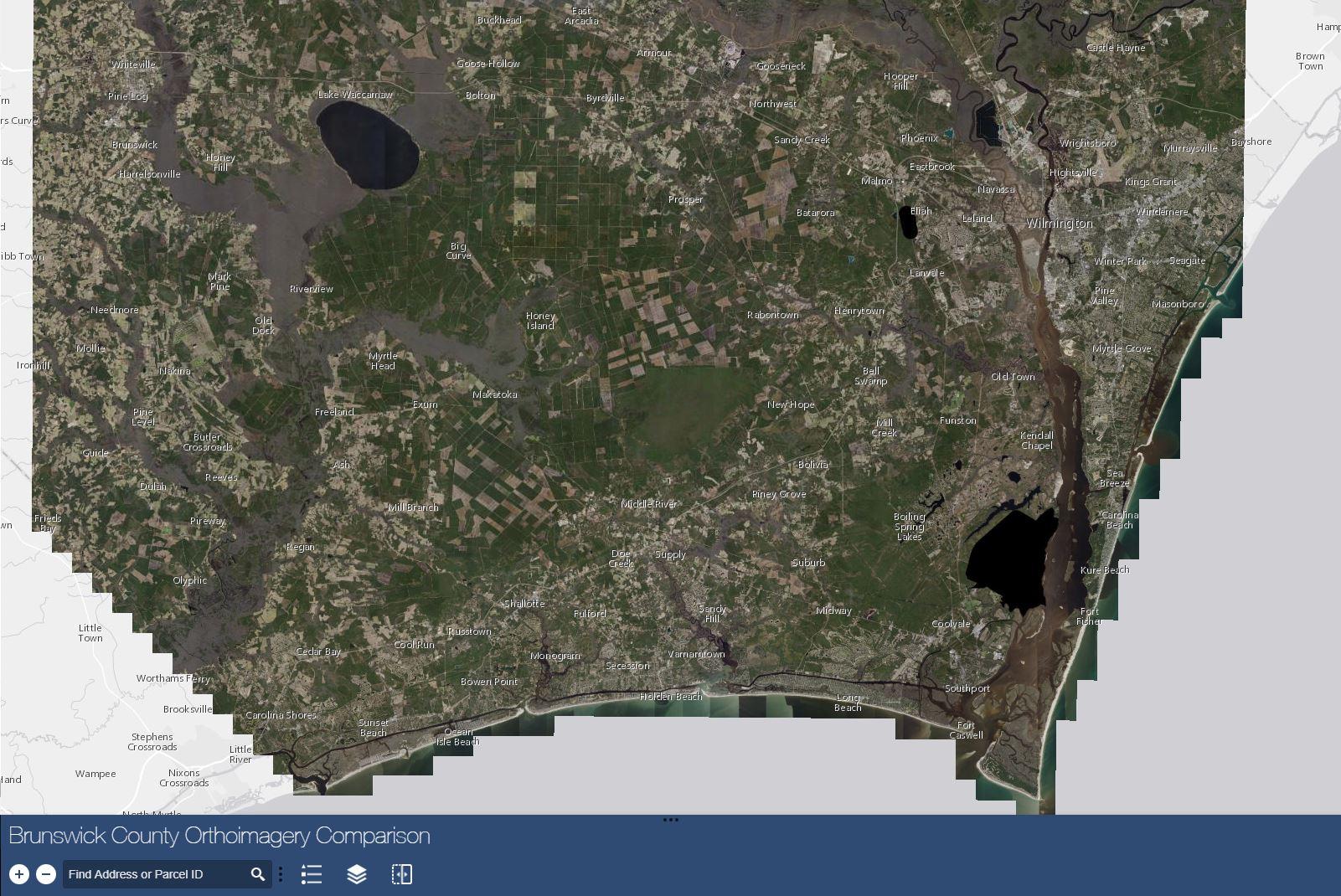 Customized Brunswick County Maps
