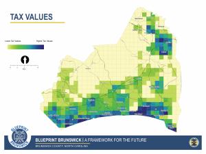Tax Values Map