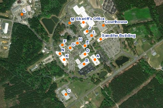 County Complex Map