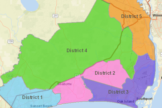 County Electoral Districts