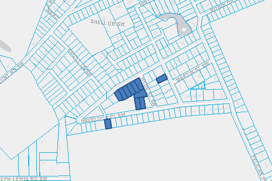 Surplus Property Map